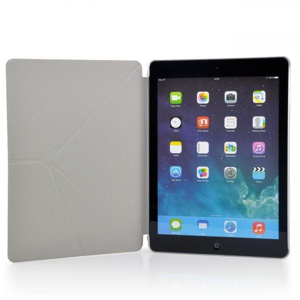 Slim Transformer Stand Case für Apple iPad Air Weiß