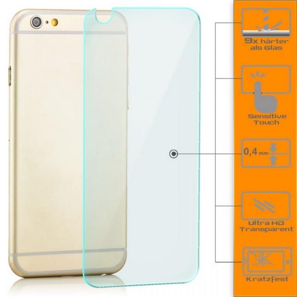 Panzerglas für Apple iPhone 6 / 6S Rückseite