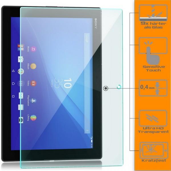 2x Displayschutzglas für Sony Xperia Z4 Tablet