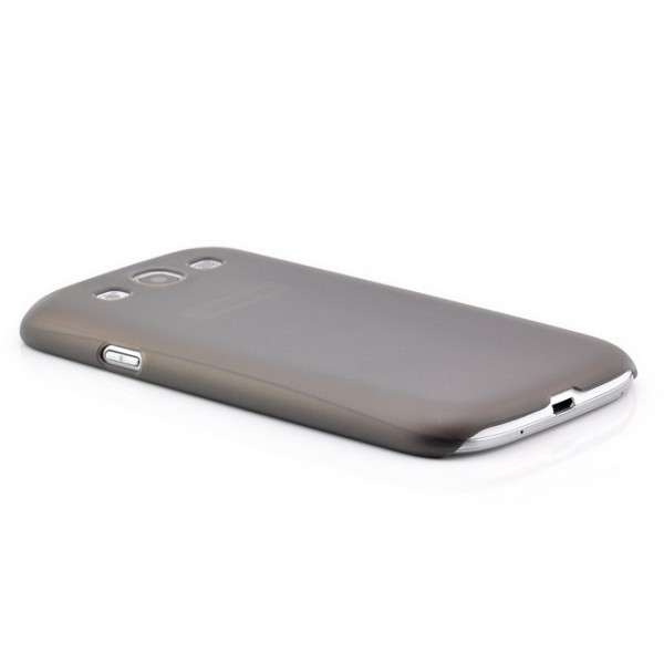 Ultra Slim Back Cover für Samsung Galaxy S3 Schwarz