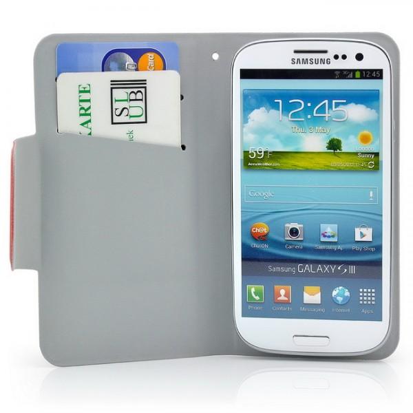 Ultra Slim TPU Handytasche für Samsung Galaxy S3 Rot