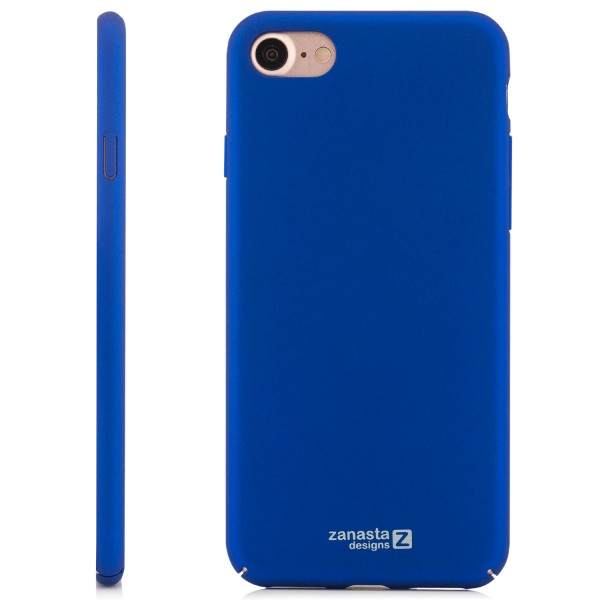 "Simple Hard Back Cover für Apple iPhone 8 / 7 (4,7"") - Blau"