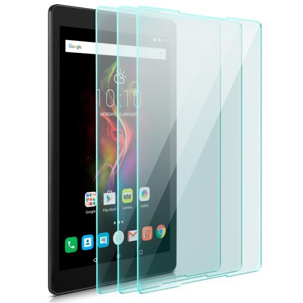 "3x Displayschutzglas für Alcatel Pop 4 (10"")"