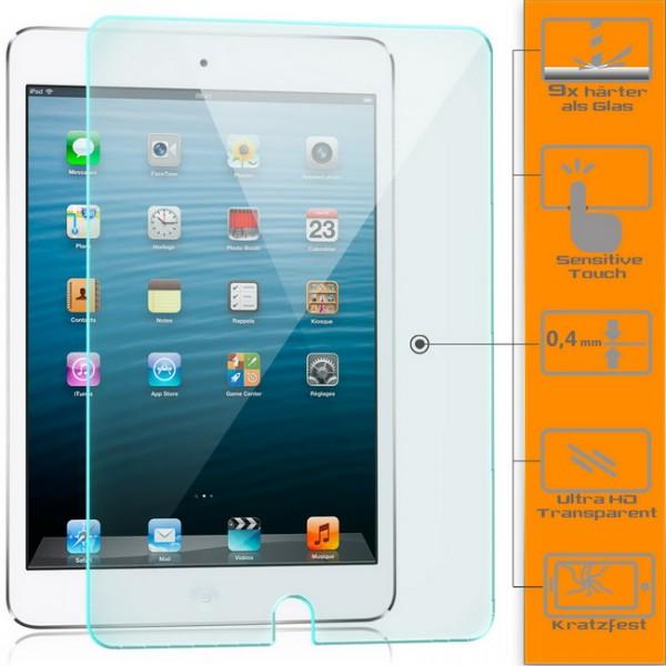 Displayschutzglas für Apple iPad Mini 4 Schutzfolie Glasfolie