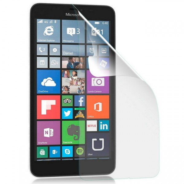 Displayschutzfolie matt für Microsoft Nokia Lumia 640 XL