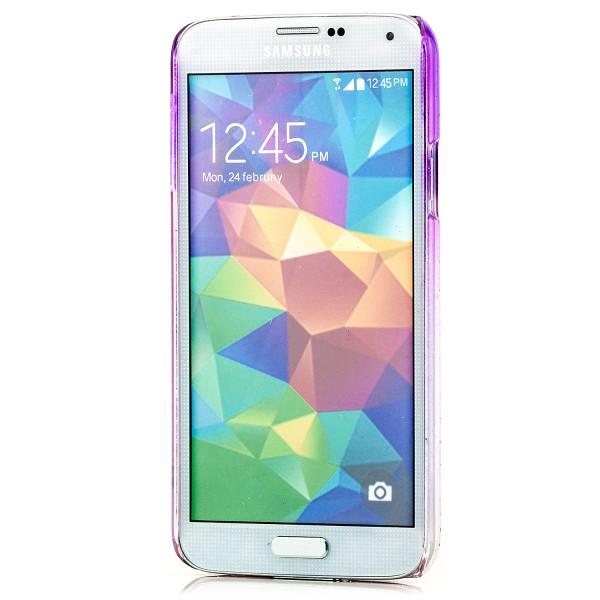 Regentropfen Hard Case für Samsung Galaxy S5 Lila