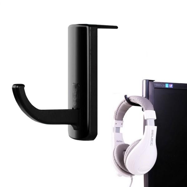 Kopfhörer Halterung aus Kunststoff - Schwarz