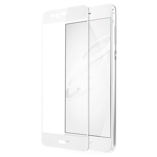 Full Cover Displayschutzglas für Huawei Honor 8 - Weiss