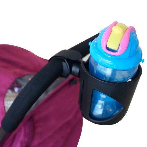 Getränkehalter für Kinderwagen mit Klettverschluss