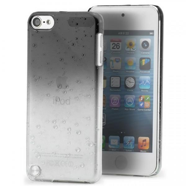 Regentropfen Hard Case für Apple iPod Touch 5G Schwarz