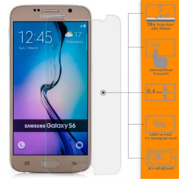 Displayschutzglas für Samsung Galaxy S6