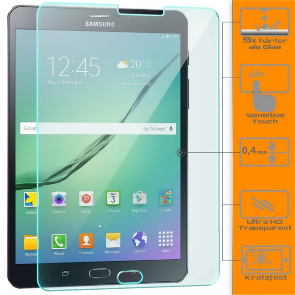 Displayschutzglas für Samsung Galaxy Tab S2 8.0