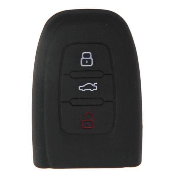 Silikon Hülle für Audi A4L Q5 A8 C7 newA6L SQ5 RS5 - Schwarz