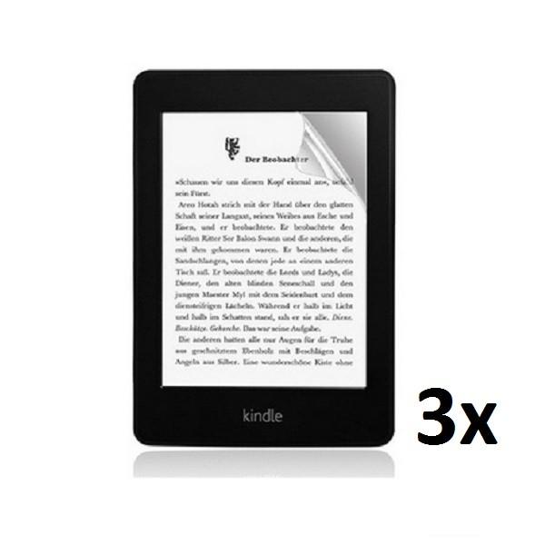 3x Displayschutzfolie für Amazon Kindle Paperwhite 1 / 2 Matt