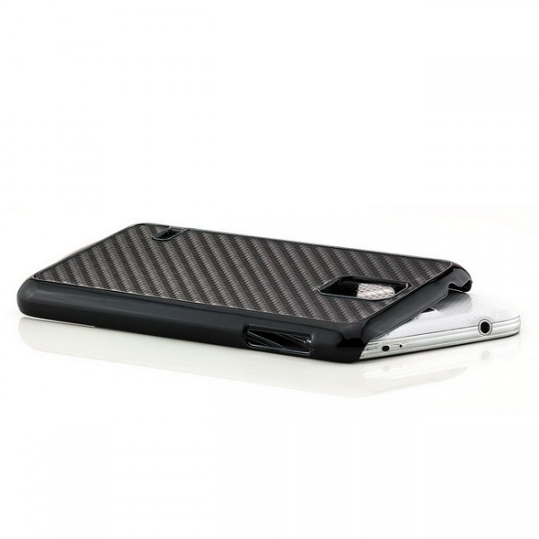 Carbon Back Cover für Samsung Galaxy S5 Schwarz