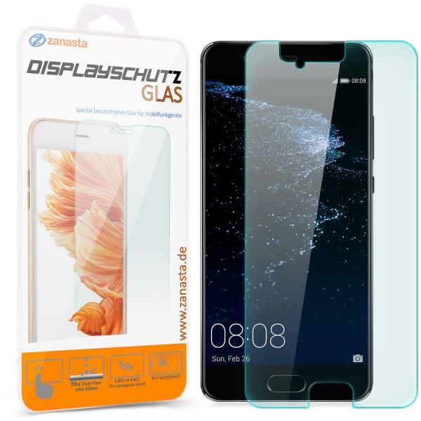 1x Displayschutzglas für Huawei P10 Plus