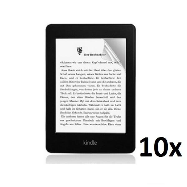 10x Displayschutzfolie für Amazon Kindle Paperwhite 1 / 2 Klar