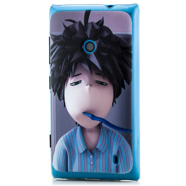 Junge mit Zahnbürste Back Cover für Nokia Lumia 520