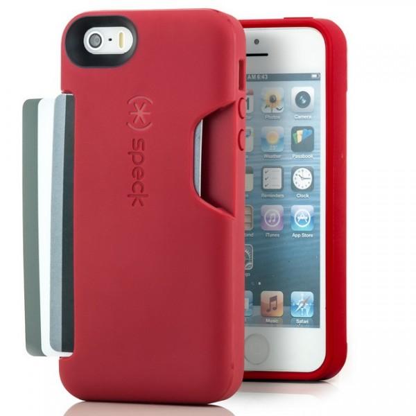 Speck SmartFlex Card Case für Apple iPhone 5 & 5S - Rot