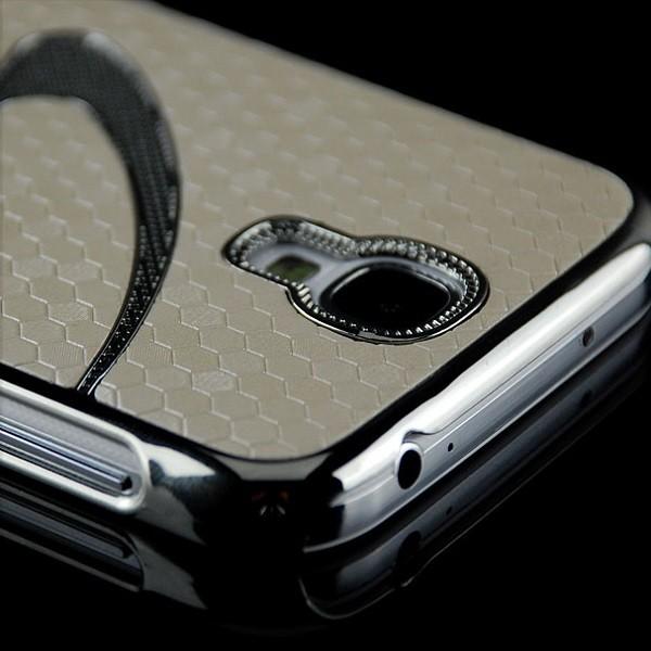 S-Line Cells Back Cover für Samsung Galaxy S4 Weiß