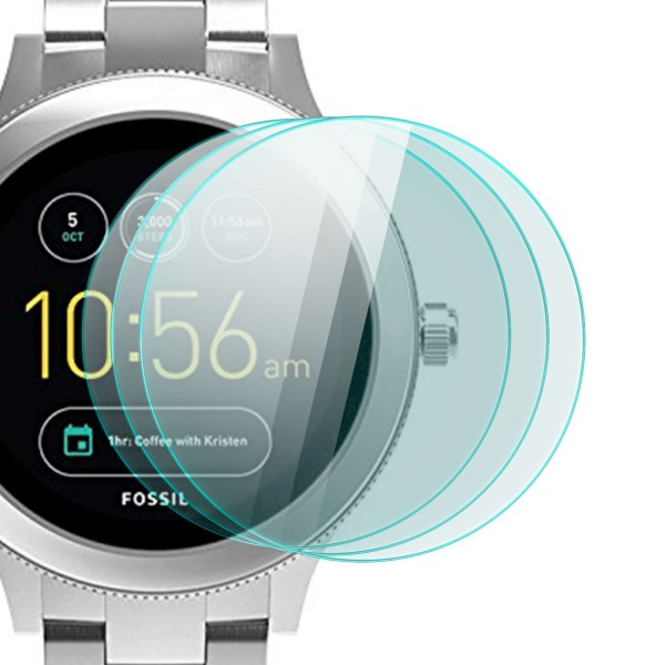 3x Displayschutzglas für Fossil Q Venture 3. Generation