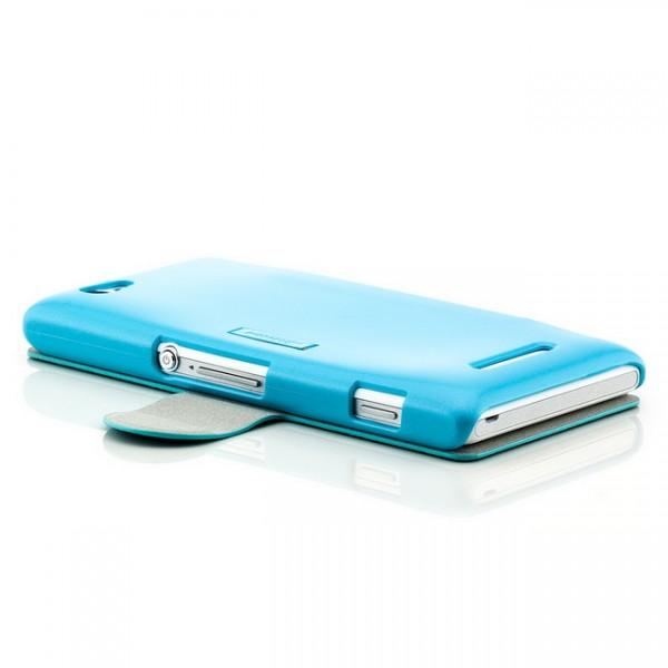 Nillkin Flip Tasche für Sony Xperia M Blau