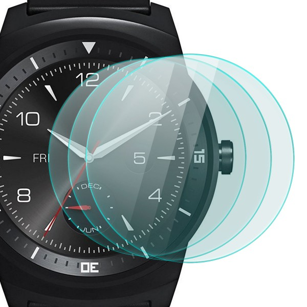 3x Displayschutzglas für LG Watch R W110
