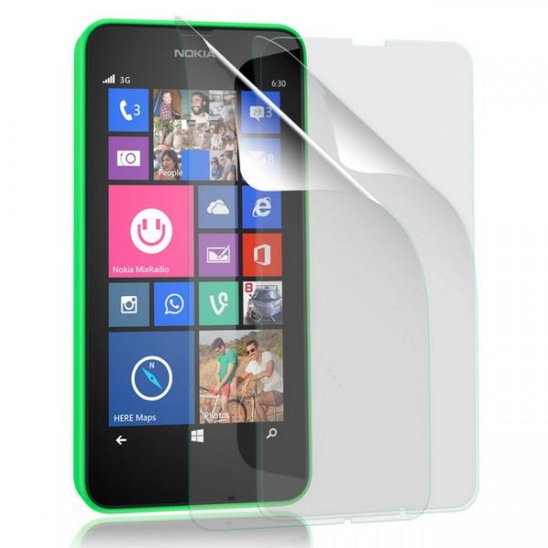 3x Displayschutzfolie für Nokia Lumia 630 Matt