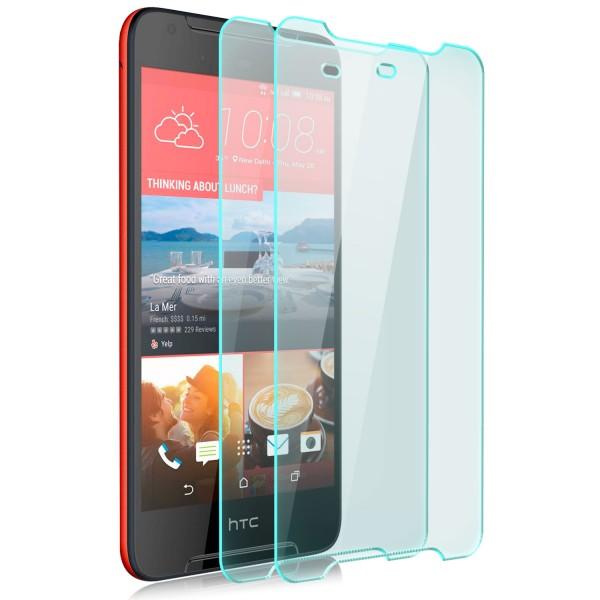 2x Displayschutzglas für HTC Desire 628 Dual Sim