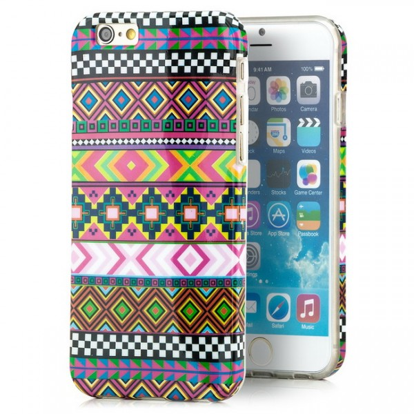 Motiv Silikon Cover für Apple iPhone 6 (4,7) (1)