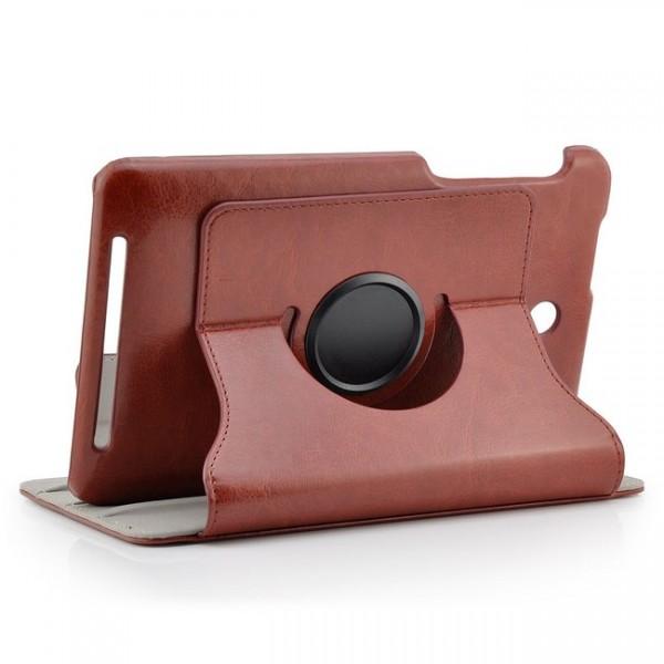 360° Business Tasche für Asus MeMo Pad HD 7 Braun