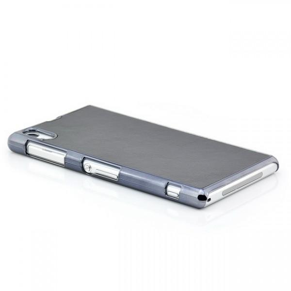 Hard Back Cover für Sony Xperia Z1 Schwarz