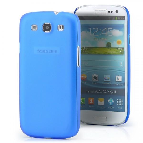 Ultra Slim Back Cover für Samsung Galaxy S3 Blau