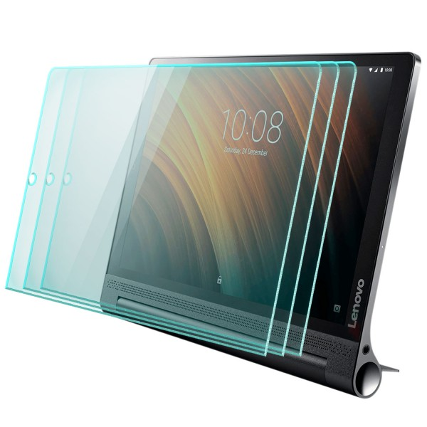 2x Displayschutzglas für Lenovo Yoga Tab 3 Plus