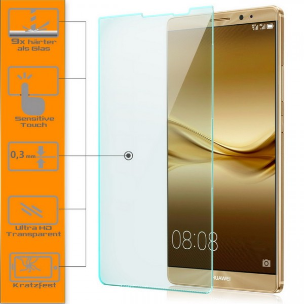 Displayschutzglas für Huawei Mate 8
