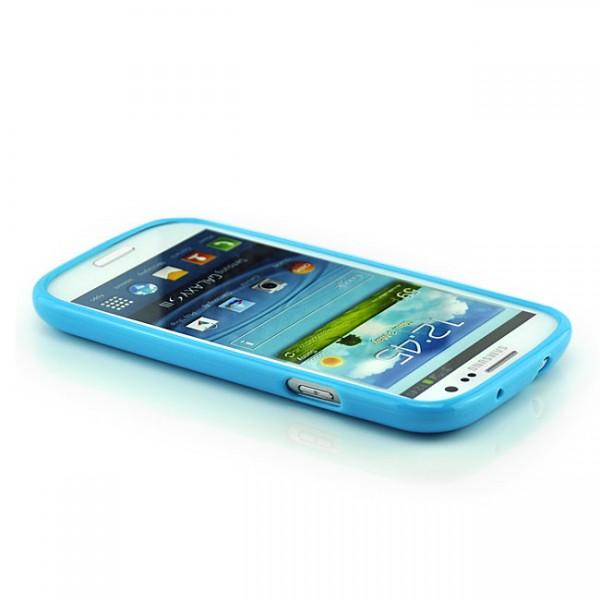 Silikon Hülle für Samsung Galaxy S3 Blau