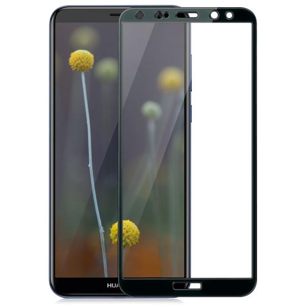 Full Cover Displayschutzglas für Huawei Mate 10 Lite - Schwarz