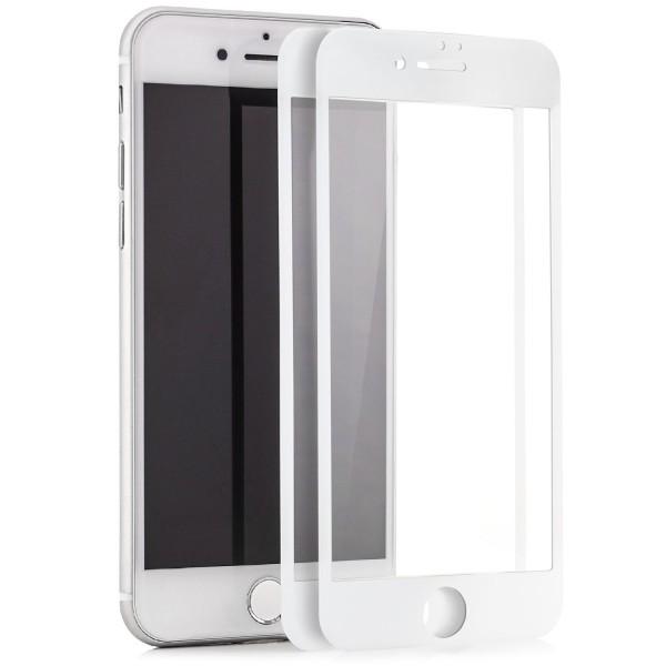 """2x Full Cover Displayschutzglas für Apple iPhone 6 / 6S Plus (5,5"""") - Weiß"""