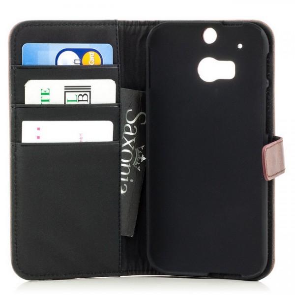 Business Schutztasche für HTC One M8 Braun
