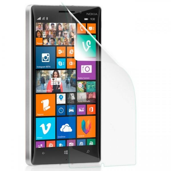 Displayschutzfolie klar für Microsoft Nokia Lumia 830