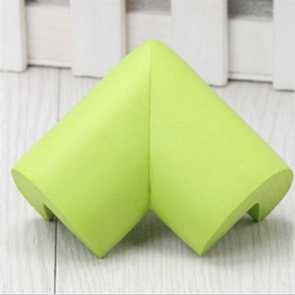 4x Eckenschutz Tisch Kantenschutz Eckschutz Möbel Kinder Baby - Grün