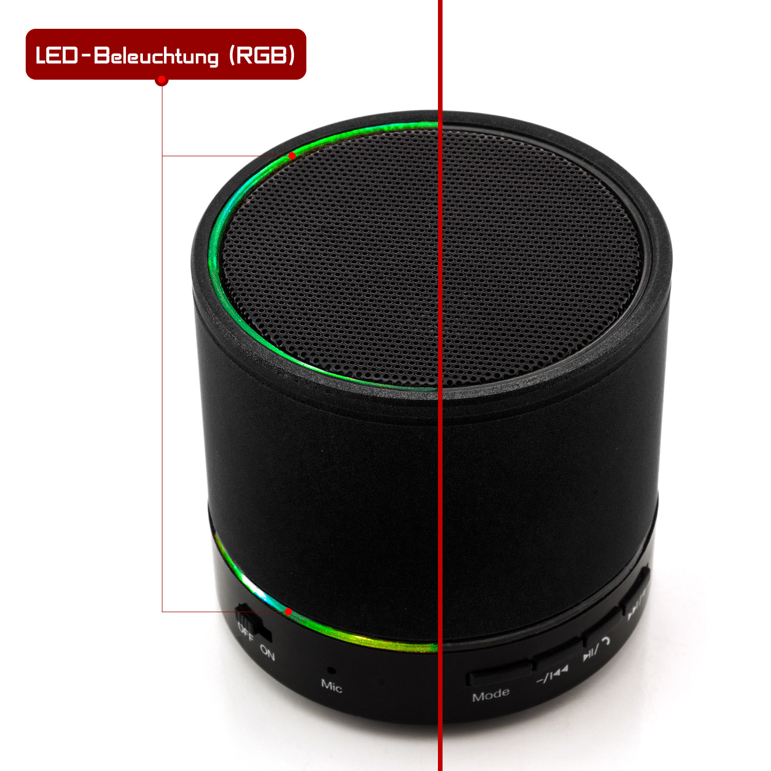 mini bluetooth lautsprecher boxen speaker wireless mp3 pc. Black Bedroom Furniture Sets. Home Design Ideas
