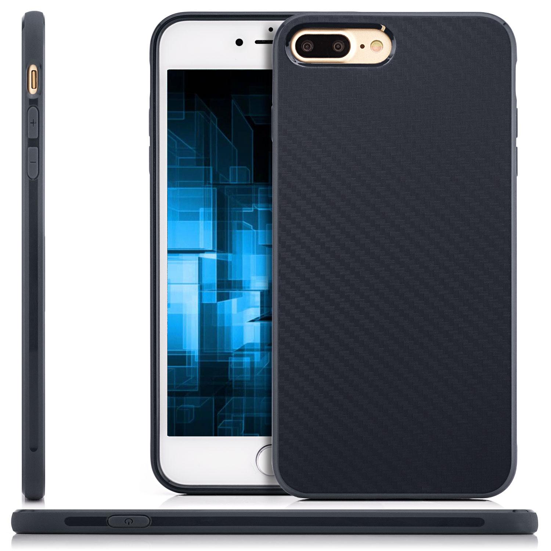 schutz glas back cover iphone 7 plus iphone 8 plus slim. Black Bedroom Furniture Sets. Home Design Ideas