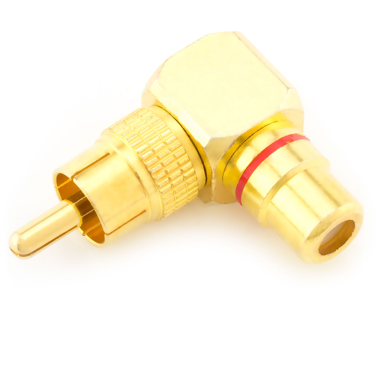 10 Stk Buchse zum Löten Audiokupplung Cinch Einbaukupplung vergoldet Schwarz