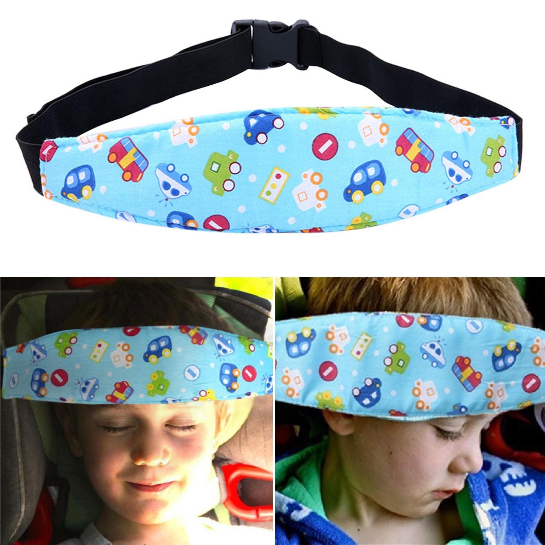 Baby Kinder Schlaf Hilfe Autositz Kopf unterstützen Sicherheitsgurt Nackenkissen