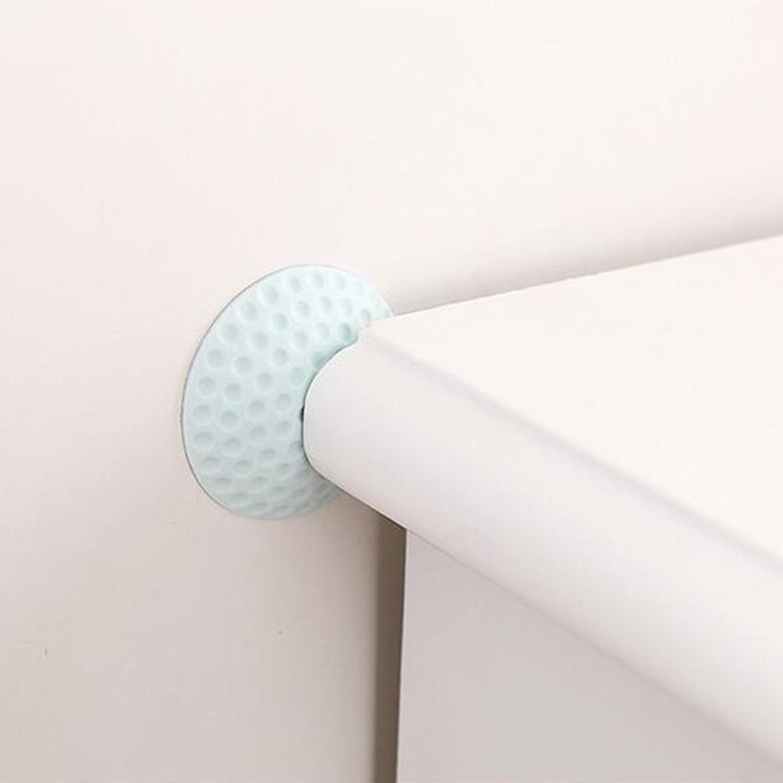 2x Türpuffer 50 mm Türstopper Wandpuffer Wand Schutz Türklinken selbstklebend B